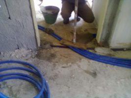 ristrutturare casa - Realizzazione impianto idrico e di riscldamento
