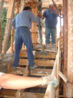 Lavori di costruzione villa a Fontane Bianche