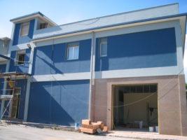Ristrutturare capannone Siracusa - Finiture esterne