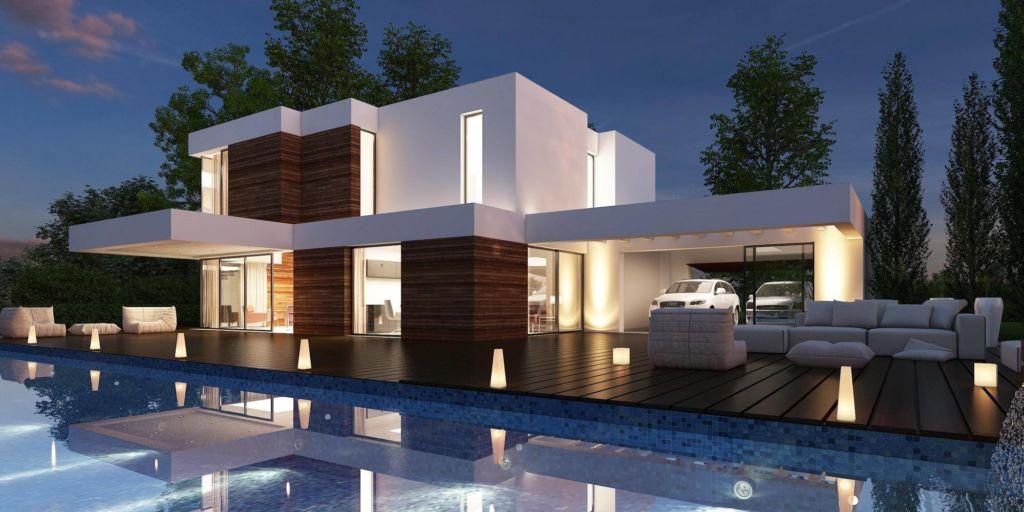 Impresa edile Siracusa villa con piscina
